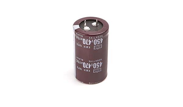 FXCO 450V 470uF Condensateur /électrique /à condensateur /électrolyte Soudeur 30 x 50 cm