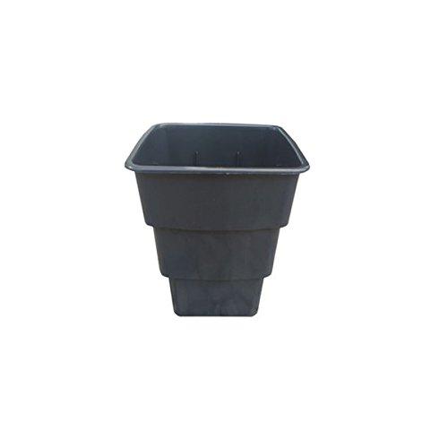 Vierkant-topf Airmax 7 und 11 L liter 4-Kant Topf viereckig Blumentopf Anzucht Topf (11 Liter)