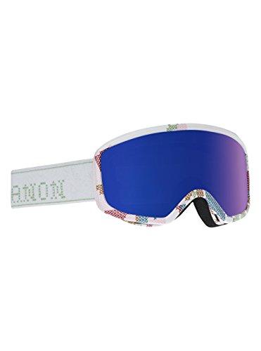 Anon Damen DERINGER Snowboardbrille, Likeaboss/Blue Cobalt, One Size