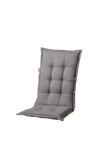 Madison Hochlehner-Auflage Deluxe Farbe: Basic Grau
