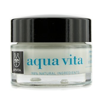 Apivita Aqua Vita (Apivita Aqua Vita 24H Moisturizing Cream-Gel For Oily/Combination Skin 1.76 oz. by Apivita)