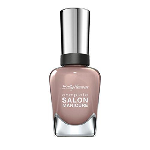 Sally Hansen Complete Salon Manicure Nagellack, 725 Vintage Pink / glänzender und lang anhaltender Farblack, Taupe/Nude/Grau, 14.7 ml
