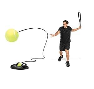 SKLZ Power Base Tennis PBTN–000–02Tennis Trainer In Black/Green from SKLZ