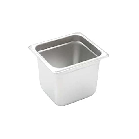 Winco SPJH-606 Steam Table Pan, 1/6 Size, 6