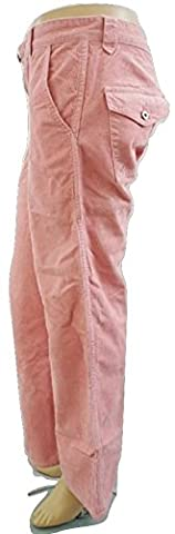 TED BAKER Pink Corduroy Cord Jeans- UK 8