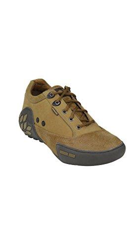 Woodland Men Camel Casual Shoes