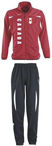 KANADA Trainingsanzug - Sportanzug - S-XXL - Fußball Fitness (M)