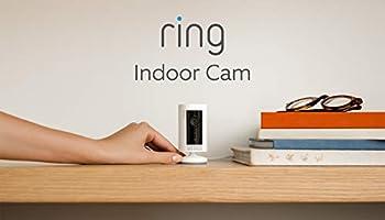 Ti presentiamo Ring Indoor Cam, una videocamera di sicurezza plug-in compatta, con immagini in HD e comunicazione...