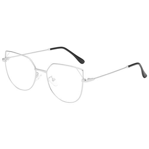 iYmitz Brille Mode, Square Herren Klare Linse Gläser Vintage Geek Damen Nerd Leicht Retro Style...