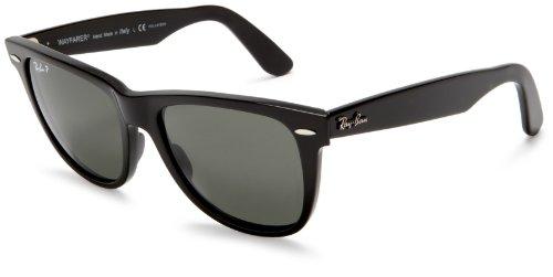 Ray-Ban RB2140 Wayfarer Sonnenbrille 47 mm, Black (Schwarz), 47 mm
