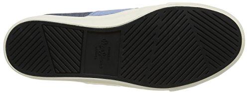 Pepe Jeans Coast Basic, Baskets Basses homme Bleu (575 Naval Blue)