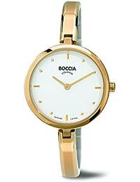 Boccia Damen-Armbanduhr Analog Quarz Titan 3248-02