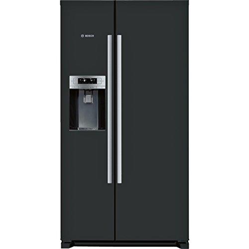 'Bosch série 6kad90VB20Réfrigérateur Porte côté à fianco-frigoriferi Side-By-Side (indépendant, Noir, Porte américaine, à LED, Sn, T)