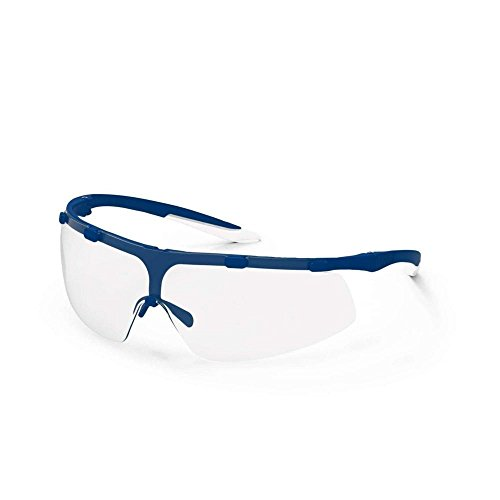 Uvex 9178265 Super Fit Blau Frame Clear Objektiv