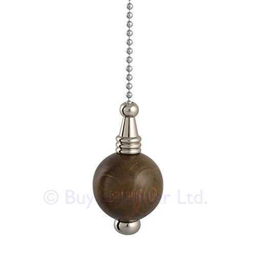 light-pull-chain-cord-chrome-35mm-dark-oak-ball-with-80cm-matching-chain