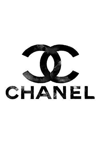 Générique Chanel Marque Logo Mural Art Couture Affiche 11240 (A3-A4-A5) - A3