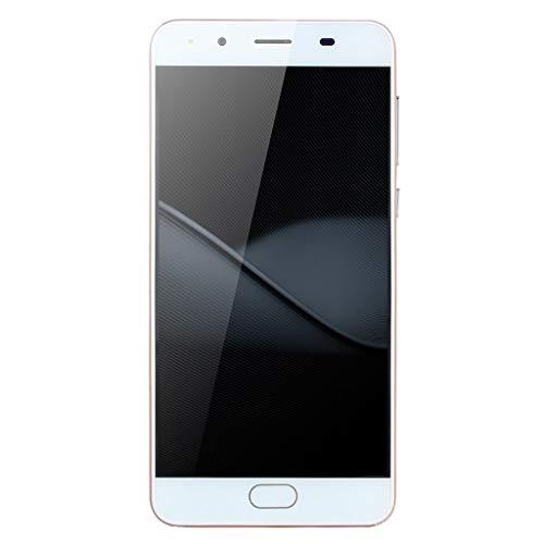 samLIKE Günstig Smartphone Ultradünn Handy ohne Vertrag 5,0 Zoll Ultra-HD-Bildschirm WiFi Android Handy Quad-Core 512MB + 512MB GSM, mit Dual-Kamera + Dual-SIM (Roségold)