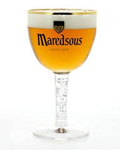 Maredsous Lots de 6 Verres à bières 25 cl