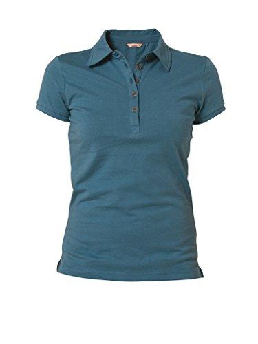 Carrera Jeans - Polo 8510361A per donna, vestibilità normale, manica corta 680 - Petrolio
