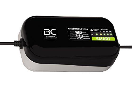 BC SMART 2000-12V 2A - Caricabatteria automatico a 8 cicli di carica per tutte le batterie 12V al piombo-acido di auto e moto