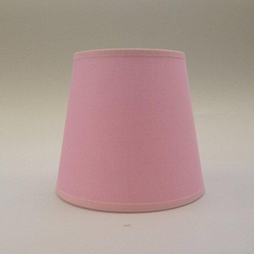 Pink Kleine Kerze Clip auf Lampenschirm Deckenleuchte Kronleuchter Wandleuchte Lampe Lampenschirm handgefertigt Baumwolle Stoff