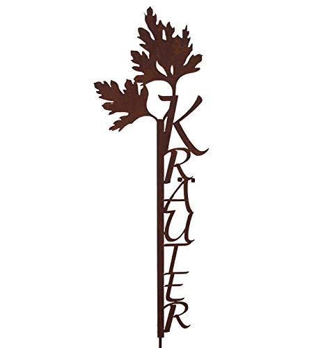 """Gartenstecker, mit Großbuchstaben """"Kräuter"""""""