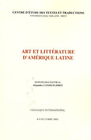 Art et littérature d'Amérique latine
