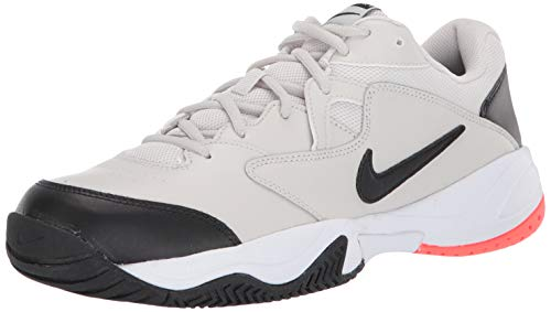 Nike Herren Nikecourt Lite 2 Tennisschuhe, Mehrfarbig (Light Bone/Black/Hot Lava/White 2), 43 EU