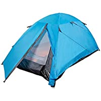 Mountain Warehouse Festival Dome 2 Man Camping Tent - Water Resistant Backpacking Tent