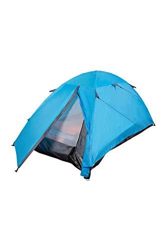 Mountain Warehouse Festival Dome 2-Personen-Campingzelt - Eingangsbereich, Zeltboden, wasserabweisendes Rucksackzelt, Pop-up-Schlafzelt - Strandzelt Für Sommerreisen Türkis