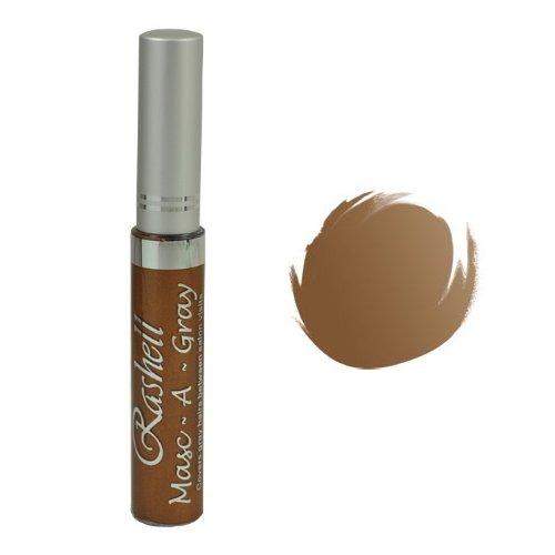 RASHELL Masc-A-Gray Hair Color Mascara - Medium Ash Brown