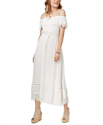 American Rag Juniors' Ruffled Maxi Dress -