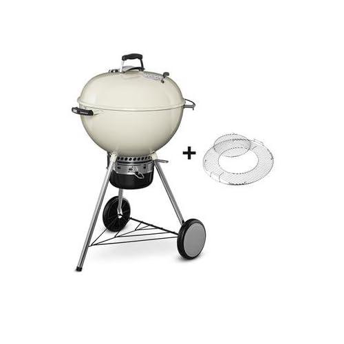 31oGTku8rdL. SS500  - Weber 57cmMaster-Touch Charcoal Kettle Barbecue BBQ - Black Porcelain Enamelled Steel Bowl