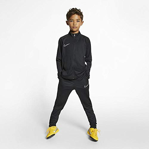 Nike Dri-Fit Academy, Tuta Bimbo, Black (White), 10