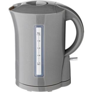 1.7 litre capacity Cookworks Kettle - Silver.