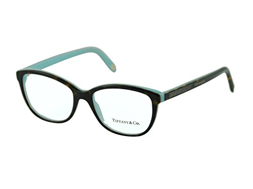tiffany-co-eyeglasses-womens-2121-8134-tortoise-blue-frame-plastic-54mm