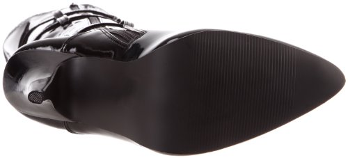 Pleaser Seduce-3028, Stivaletti Donna Negro (Negro (Blk Str Pat))