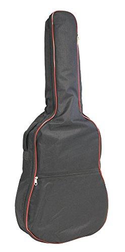 RockJam DGB-03 - Bolsa de guitarra acústica acolchada