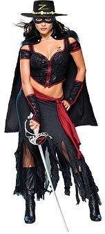 Zorro Kostüm Sexy - Lady Zorro-Kostüm sexy