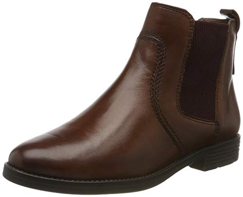Tamaris Damen 1-1-25306-23 Chelsea Boots, Braun (Cognac 305), 38 EU