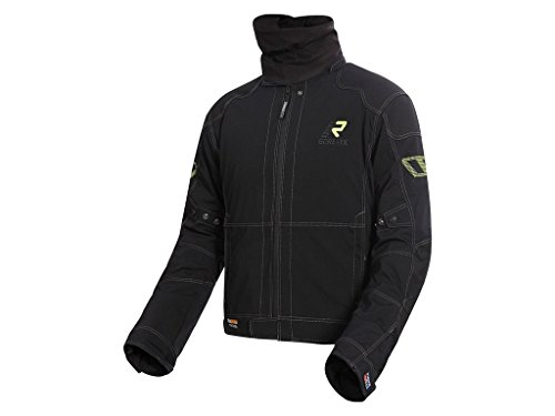 Preisvergleich Produktbild Gore Tex Motorradjacke Rukka Flexius schwarz-gelb,  50