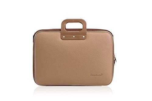bombata-business-classic-briefcase-43-cm-20-liters-tan