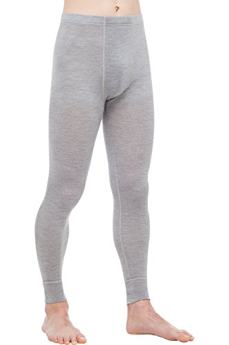 Thermowave Herren Long Hose, Silber, XL