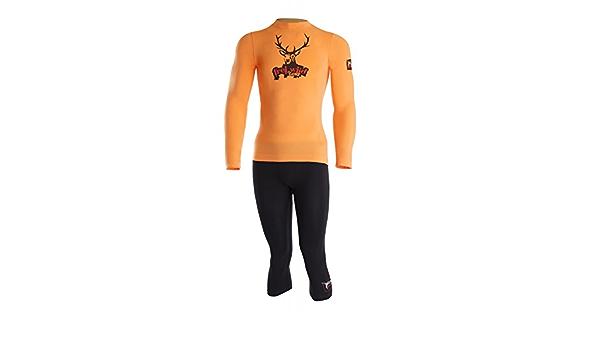 orange//Black Lenz Unterw/äsche Set Freiwild Men Funktionsbekleidung