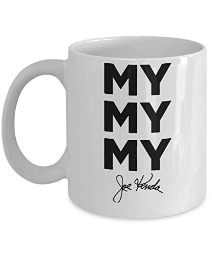 My My My Coffee Mug (White) - Signature Joe Kenda Mug - This 11-oz Joe Kenda Coffee Cup is The Perfect My My My Merchandise for Fans of Joe Kenda -