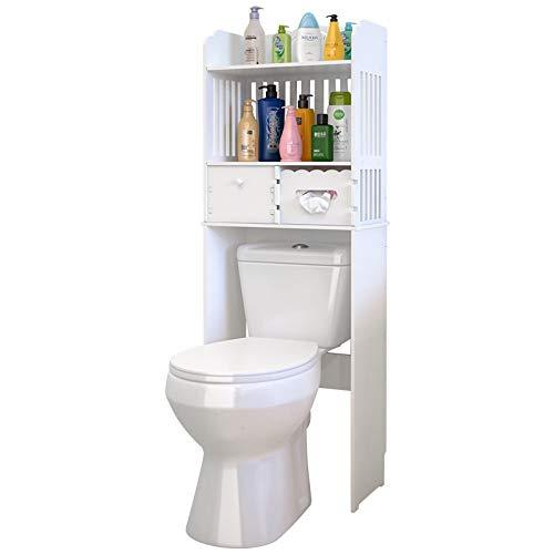 YLCK El baño plástico 4 Capas Ahorra Espacio cajones
