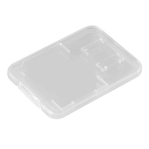 Poppstar Speicherkartenhülle Aufbewahrungsbox für Speicherkarten SD/MMC/MicroSD