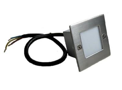 C-Light LED Wand-/ Treppenleuchte 230 V - 70 x 70 mm warm weiss von C-Light GmbH auf Lampenhans.de