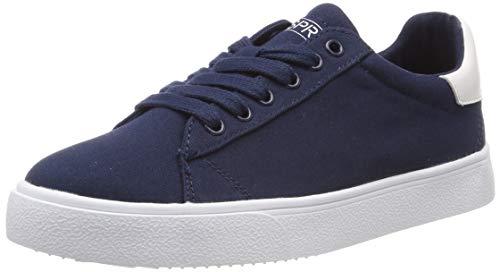 ESPRIT Damen Cherry LU Sneaker, Blau (Navy 400), 39 EU