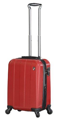 ... 50% SALE ... PREMIUM DESIGNER Hartschalen Koffer - Heys Crown Elite V Blau - Handgepäck Rot
